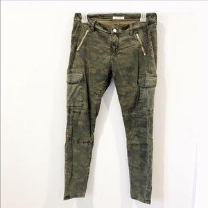 Zara Military Cargo Skinnies, Sz 4